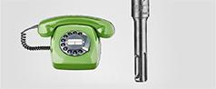 SDS-plus von Bosch. Seit 1975. Seit 40 Jahren.