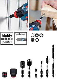 Metal Drill Bit >> Impact Control   Bosch accessories for professional power tools