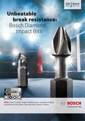 Unbeatable break resistance: Bosch Diamond Impacts