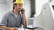 Servicios de atención al cliente para la construcción/industria